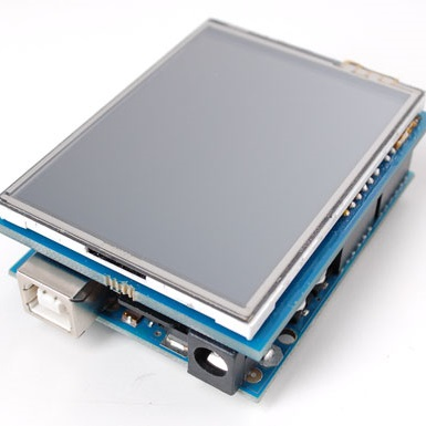 TFT LCD дисплей 2.8 дюйма и Arduino