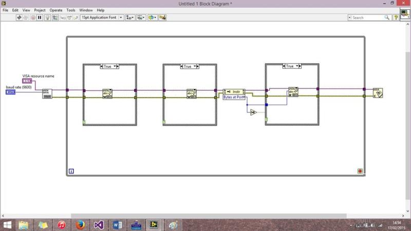 LabView VISA Configure Serial Port