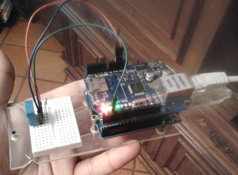 PHP msql dht11 и Arduino